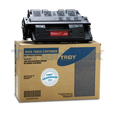 TROY HP LASERJET 4100 MICR TONER CTG BLACK 10K